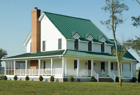 Roof siding materials west friendship md howard co md for Vertical metal siding